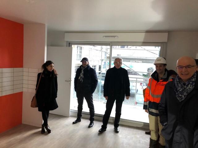 Résidence AMADEO – Clermont-Ferrand (63) – Visite du logement témoin