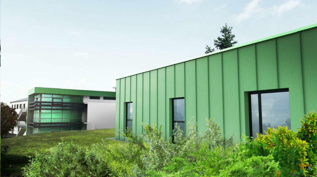 Rénovation énergétique du lycée des Combrailles par CDR CONSTRUCTION