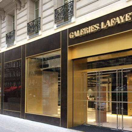 Magasin Galeries Lafayette – Rue Haussmann – Paris (75)
