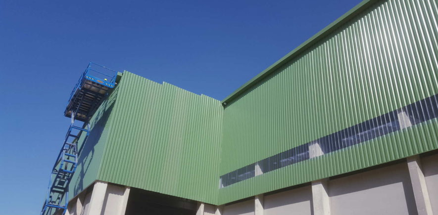 Bâtiment à rupture de charge et centre de tri – Granges (71)