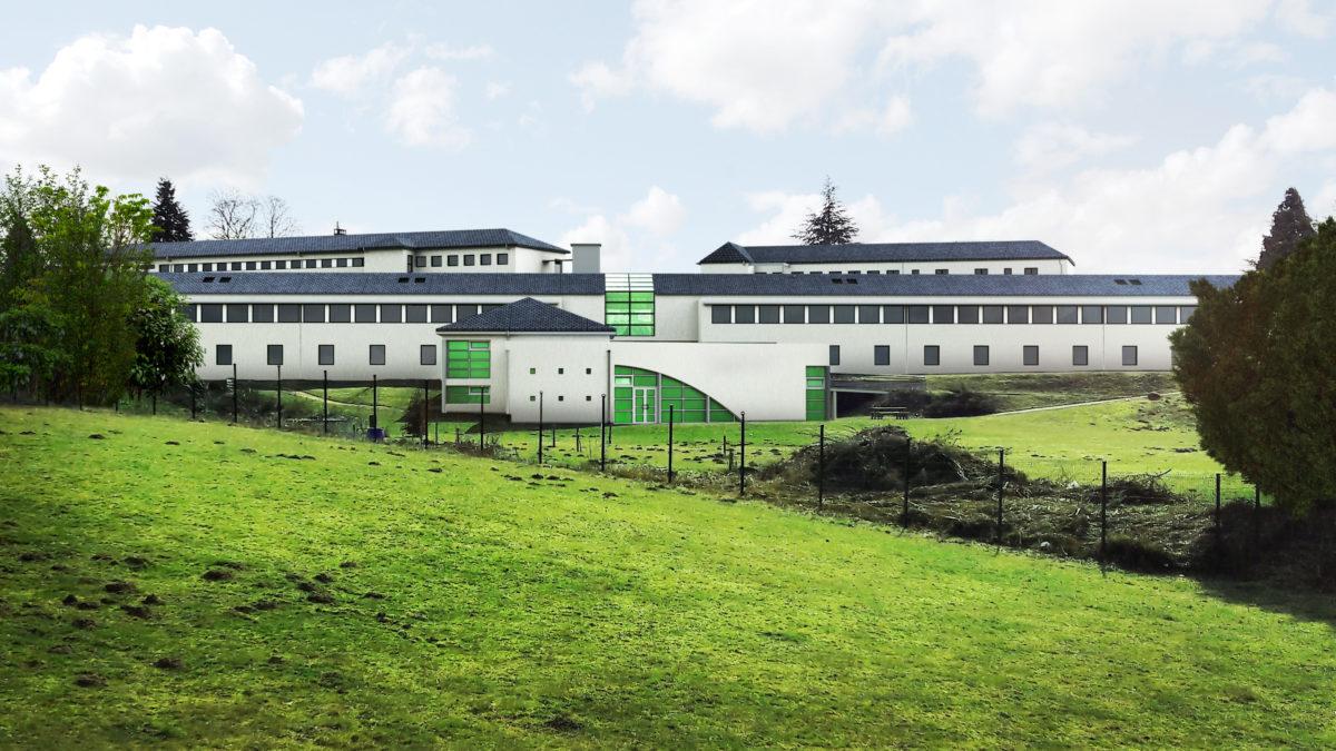 Rénovation énergétique du lycée des Combrailles à Saint-Gervais d'Auvergne